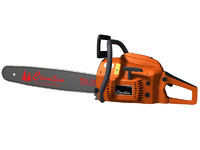 chainsaw chain saw 3d max
