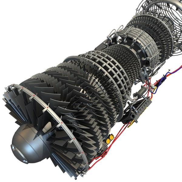 Centrifugal Jet Engine : Airplane turbo jet engines free engine image