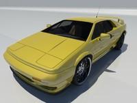 esprit v8 2002 sport 3d model