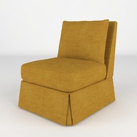 maya chair realistic