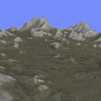 3ds max grounded terrain tm1-01