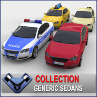 generic sedan monsun 3d 3ds