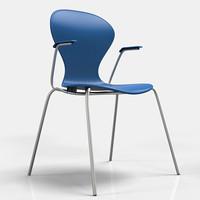 3d cadeira graph chair model