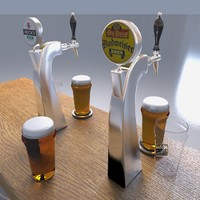 beer tower 3d max