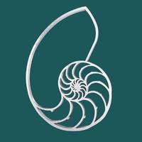 free nautilus symbol 3d model