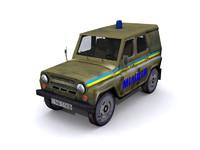3d uaz-469 uaz model
