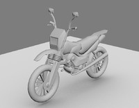 sports bike 3d model