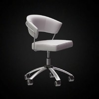 3d office chair calligaris model
