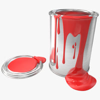 3d model paint colors