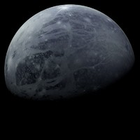 3d model photorealistic pluto planets