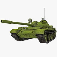 soviet union main battle tank 3d max