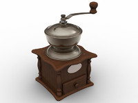 3ds old coffee grinder