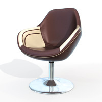 contemporary design chair 3d 3ds