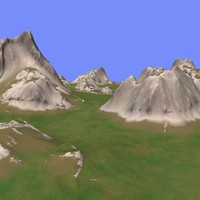 3d metay terrain km-03 model