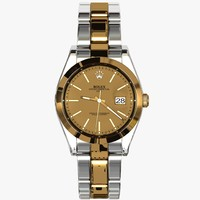 obj rolex date watch