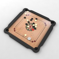 carrom board 3d max