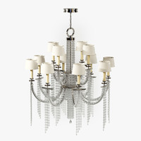 fine lamps cascades 749040st 3d model