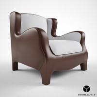 3ds max promemoria club armchair