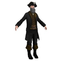 3ds max pirate captain
