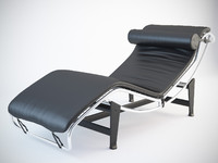3d model of lc4 corbusier chaise