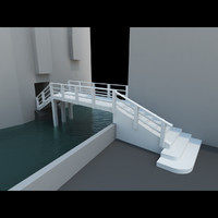 real bridge venice ghetto 3d obj
