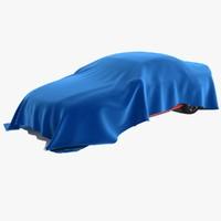 3d car draped