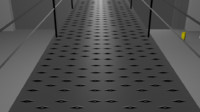 perforated flooring 3ds free