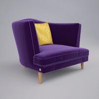 sofa busnelli tresor 3d max