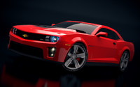 chevrolete camaro zl1 2012 3d model