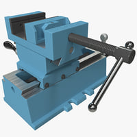 3d cross sliding vise shop