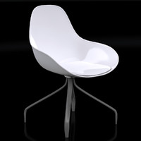 ikea jakob chair 3d 3ds