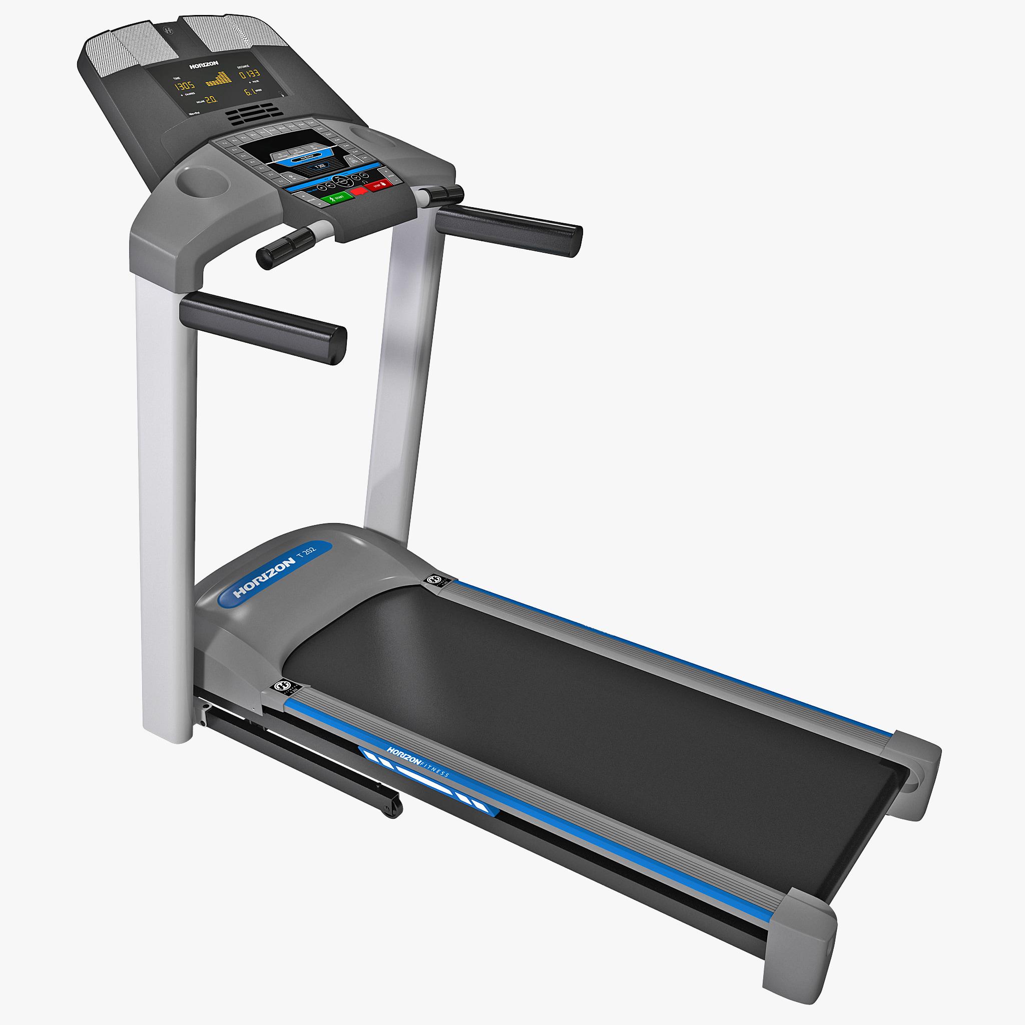 Horizon Fitness Is 100 Treadmill: 3d Treadmill Horizon Fitness T202 Model