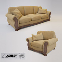 ashley lynnwood sofa 3d model