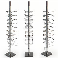 3d model rack glasses
