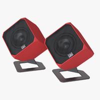 speaker maxwell 3d model