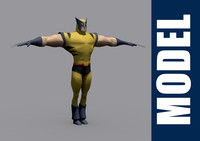 ma wolverine series modeled