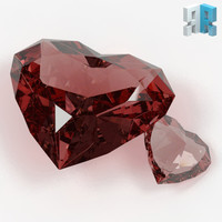 Heart Shaped Gemstone 01