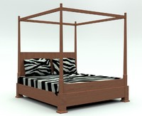 bed king size 3d max