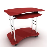 3d model of computer table