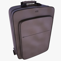 3ds max suitcase baggage