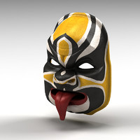 3dsmax asian mask