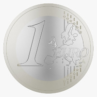 3d 1 euro model