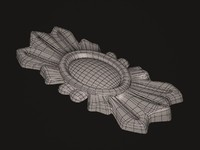 3d decorative stone model