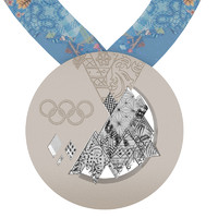 sochi olimpic games medal 3ds