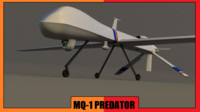 general mq-1 predator 3ds free