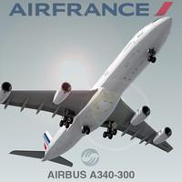airbus a340-300 air france c4d