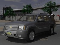 chevrolet tahoe z71 gmt900 3d 3ds