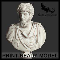 3d printable lucius verus emperor