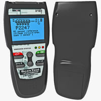 3d model professional diagnostic code scanner