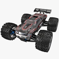 3d model radio control car traxxas
